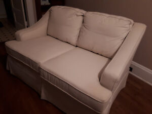 Love Seat, solid wood construction
