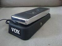 Vox wah pedal