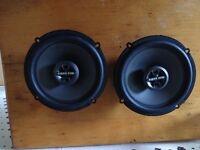 "MTX 6.5"" speakers"