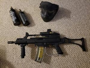 Paintball Gun/Marker Tippmann A5 w/ Cyclone Feed & G36C mods