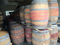 LOOK > 80 California Wine Oak Barrels & 120 Kentucky Oak Barrels