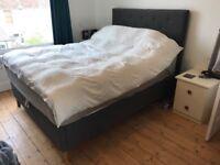 King size deep ottoman bed from Warren Evans with mattress