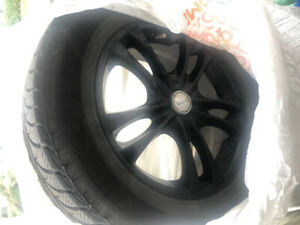Rims with 225/65R17 Winter Tires on for sale