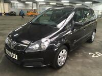 2006 VAUXHALL ZAFIRA 1.6 AIR CON 7 SEATER 1 PRIOR KEEPER 9 SERVICES