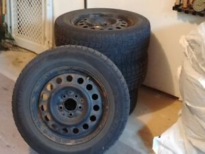 SNOW TIRES FOR SALE ON RIMS