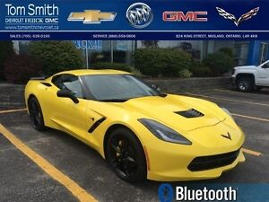2017 Chevrolet Corvette   - LOCAL TRADE -  ONE OWNER -  LOW KMS