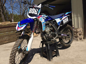 Very clean very fast yz250f.  Cheap price to sell fast! Peterborough Peterborough Area image 3
