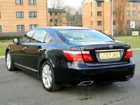 2007 57 LEXUS LS 600h 5.0 CVT LWB WITH REAR RELAXATION PACK!