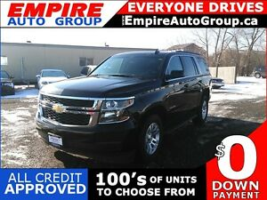 2016 CHEVROLET TAHOE LS * 4WD * LEATHER * REAR CAM * BLUETOOTH *