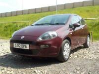 2012 Fiat Punto 1.4 8V Easy (s/s) 3dr EU5 Hatchback Petrol Manual