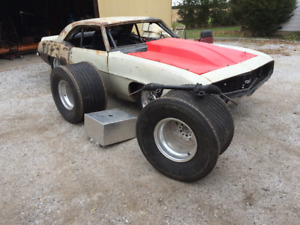 1969 Camaro Rolling Chassis Dana Rear End Tubbed DONT MISS