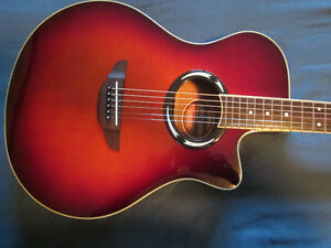 Yamaha Acoustic-electric..Great Beginner or Back-up Guitar!