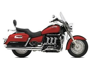 2016 Triumph Rocket III Touring ABS Cranberry Red / Phantom Blac