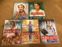 Nurse Jackie DVDs Series 1 to 5