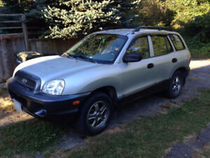 2002 Hyundai Santa Fe GLS SUV, serviced regularly
