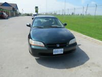 2000 Honda Accord ULX Sedan,AUTO E-TESTED &CERTIFIED.