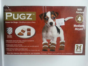 2 Sets of Dog Boots