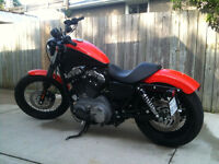 2009 nightster 1200cc only 7000klm