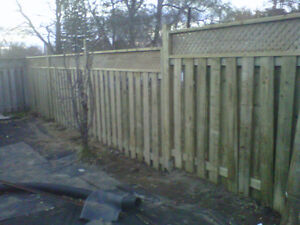 Fence blow over??   Contact us for a quick quote! London Ontario image 1