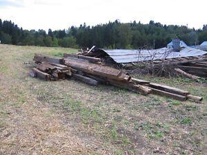 poutre de bois de grange Saguenay Saguenay-Lac-Saint-Jean image 3