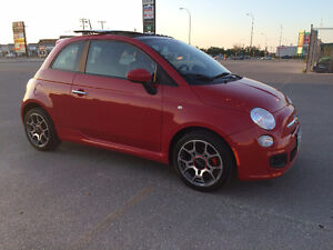 2012 Fiat 500 Sport Coupe (2 door)