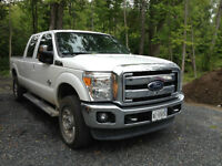 2013 Ford F-250 Lariat Supercrew 4x4 Diesel, Leather, Loaded