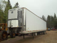 2000 53' reefer trailer Insulated