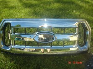 REDUCED--FORD F150 CHROME GRILLE