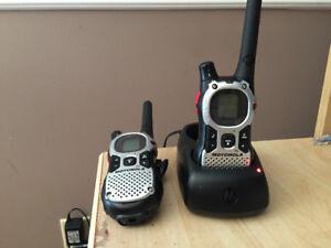 Set of Motorola MJ270r walkies for sale