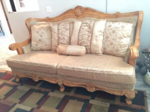 3pc sofa set good condition