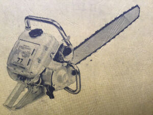 McCulloch Vintage Chainsaw 73/77