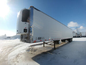 2007 53ft wabash reefer trailers Pair of them