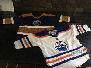 Oilers jerseys for babies