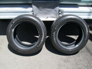 Two Goodyear Eagle GT Tires - 16""