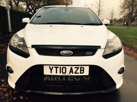 Ford Focus 2.5 RS Good / Bad Credit Car Finance (white) 2010