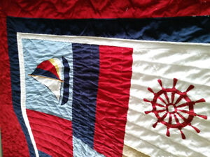 Nautical King Size Quilt