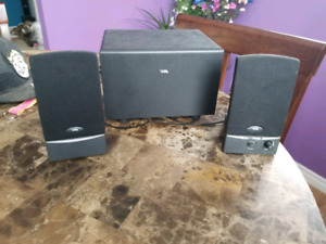 Aux speakers and sub