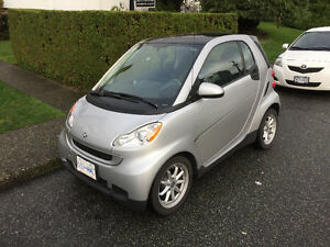 2008 Smart Fortwo Silver Coupe (2 door)