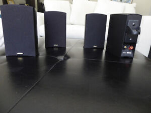 SURROUND SOUND SPEAKERS AND RECEIVER