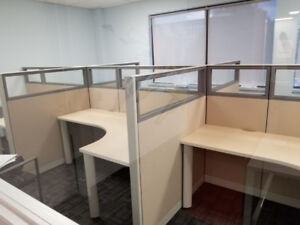 Cubicles - Workstations - Telemarketing Stations & Panels