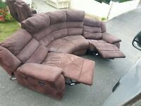 Harvey's electric recliner corner sofa. Possible delivery