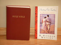 """""""Holy Bible"""" (Red Letter version) & """"Starting Out Together"""" book"""