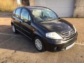 2007 Citroen C3 1.4i Desire 5 Door Panther Black