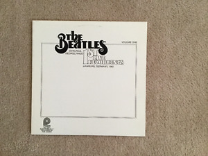 The Beatles First Live Recordings Vol. 1 33 1/3 RPM vinyl LP