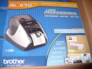 Brother QL.570 Professional Label Printer /Crafts/Office