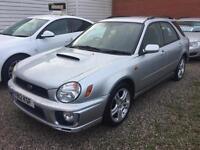 2001 Subaru Impreza 2.0 Turbo WRX, 5 Door Sportswagon, Petrol, 4WD,AWD.