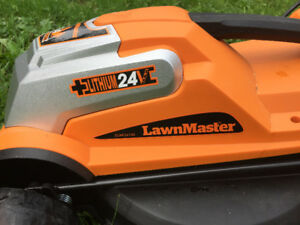 Lawnmaster Cordless 24V Lithium Lawnmower New Condition