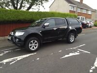 Mitsubishi l200 barbarian 2.5did automatic top spec double cab pick up 10plate no vat!!