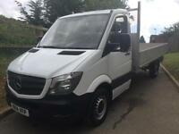 MERCEDES BENZ SPRINTER 313CDI LWB ALLOY DROPSIDE 14 REG