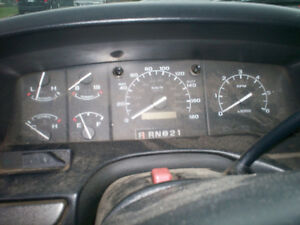 1992, 1993, 1994, 1995 and 1996 F150, Bronco Tach Clusters